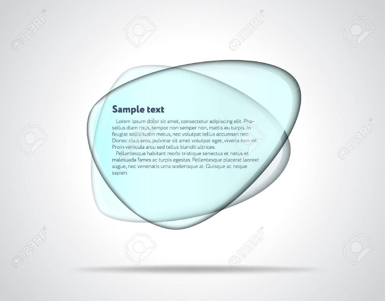 Smooth glass plates Stock Vector - 12398555