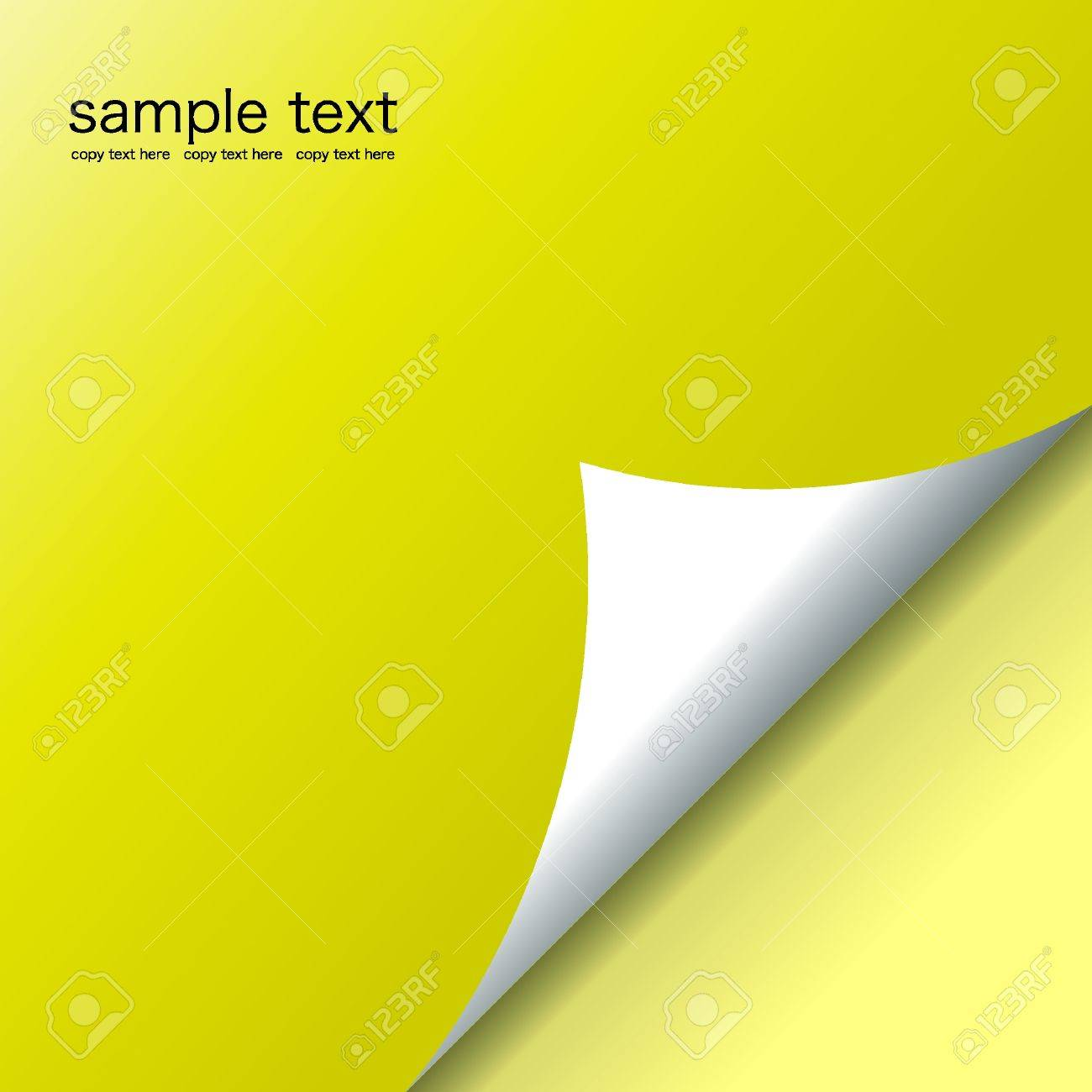 Vector of bent page-Illustration Stock Vector - 5472357