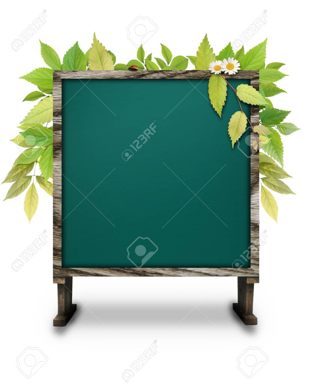 CG synthesis bulletin board of eco-image Stock Photo - 8162663
