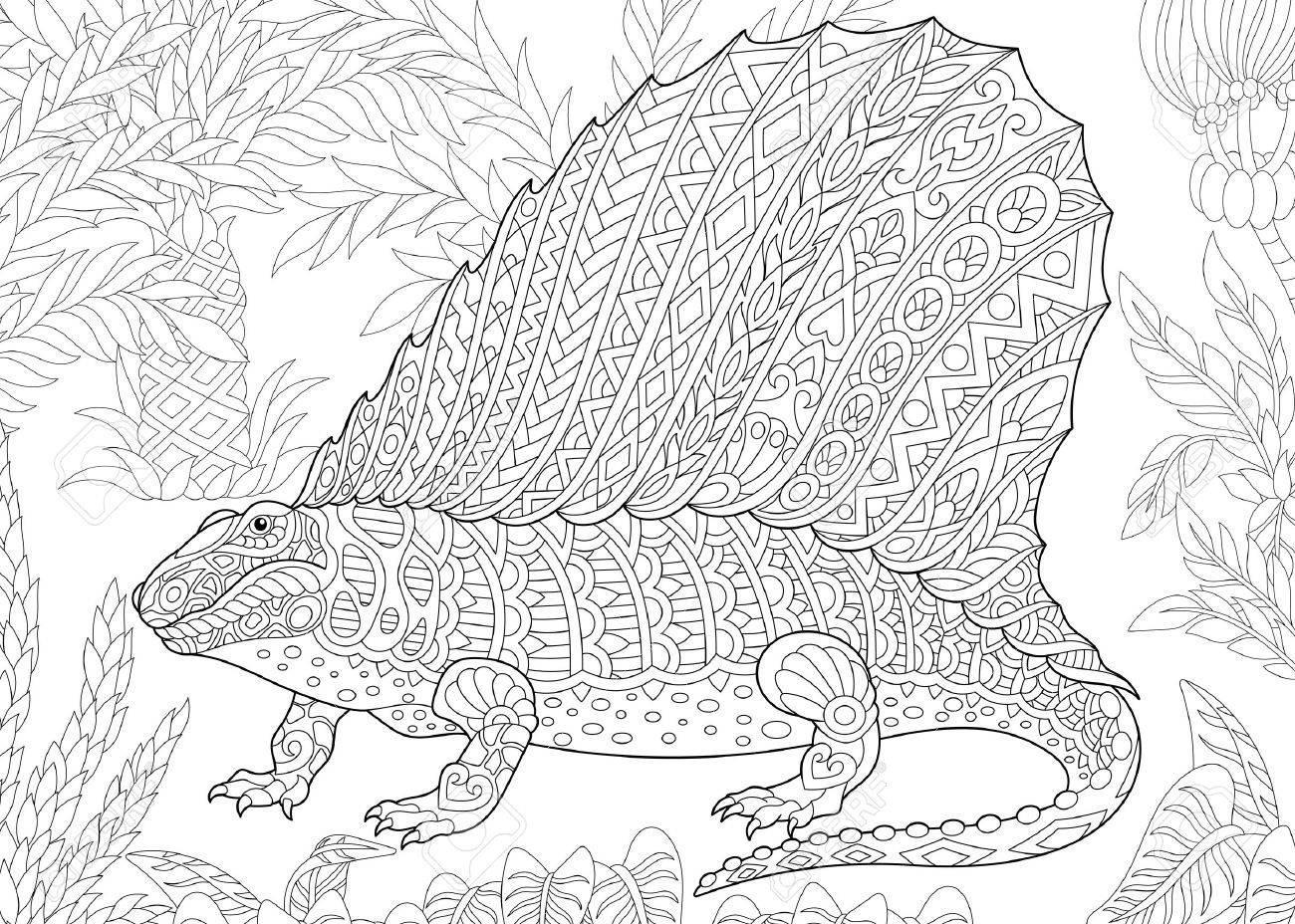 Diplodocus Dino Coloring Page | 928x1300