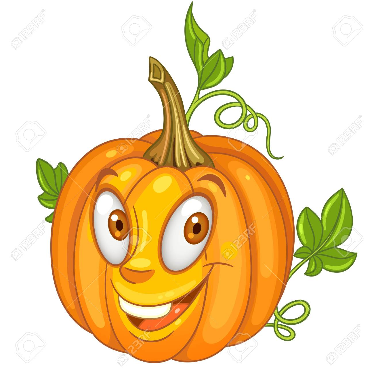 Cartoon pumpkin character happy vegetable symbol eco food icon cartoon pumpkin character happy vegetable symbol eco food icon halloween holiday celebration decor thecheapjerseys Images