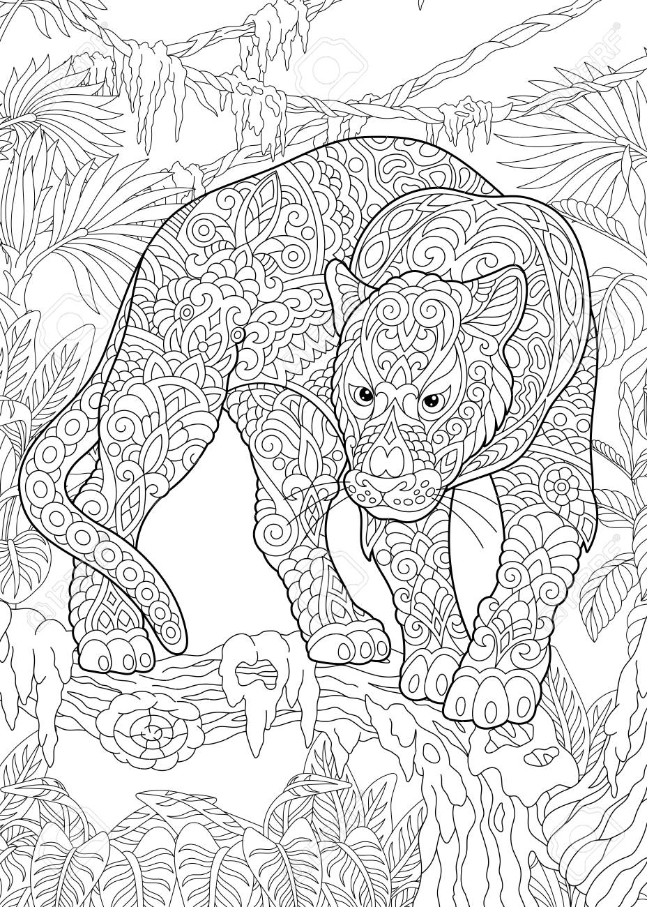 Wild Animal Coloring Pages Animal Coloring Pages With Cartoon Also ...   1300x928