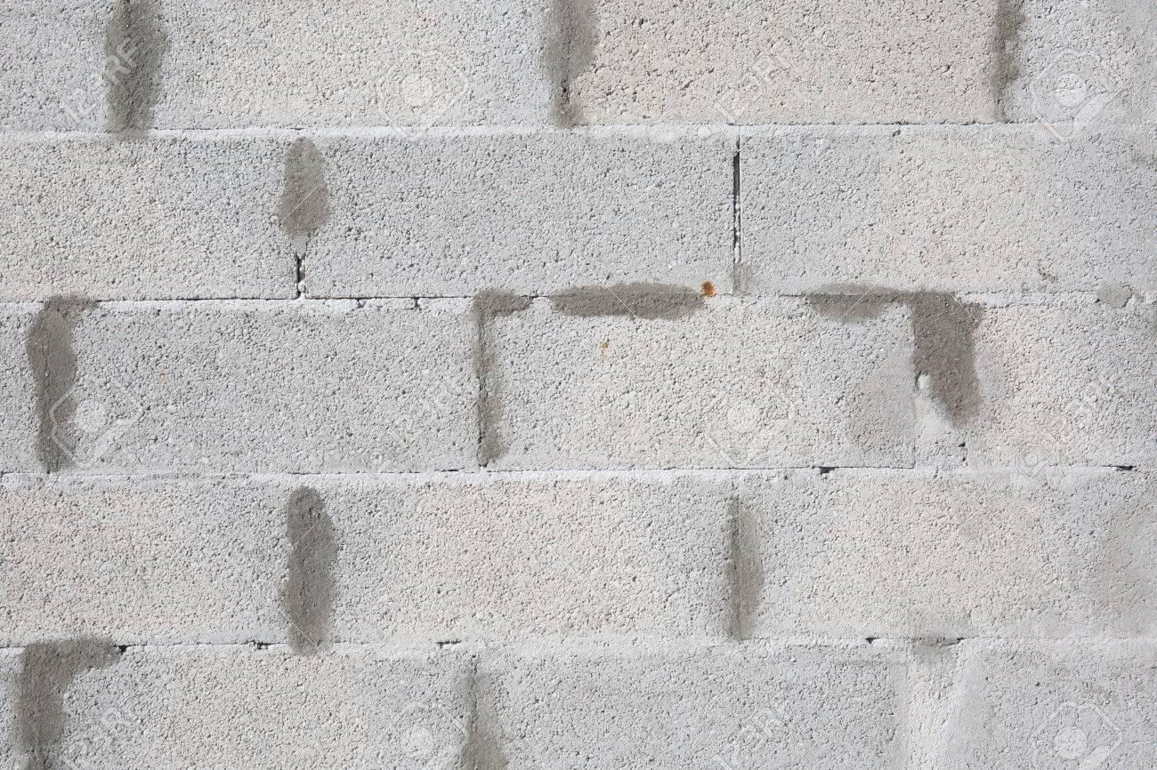 Résumé Tanné Texture Taché Vieux Stuc Blanc Et Vieilli Peinture Blanche Mur De Briques De Base