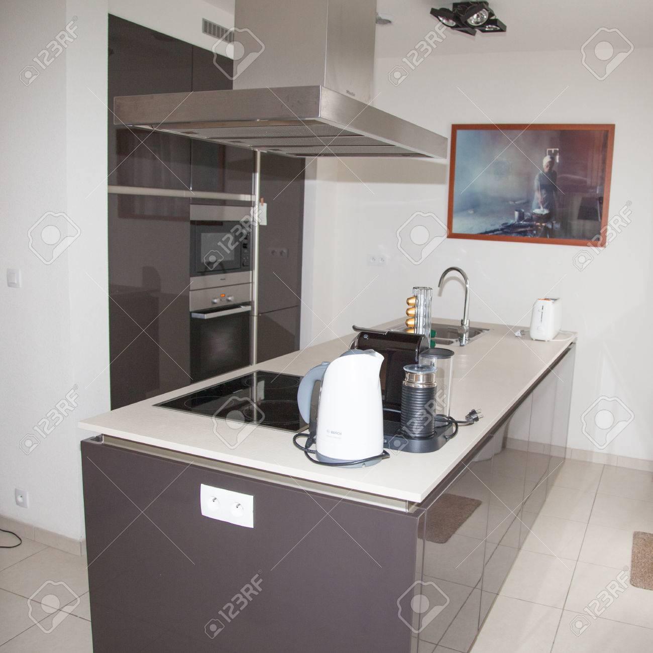 Küche, Inter, Sauber, Platz, Haus, Zuhause, Nach Innen, Modern ...