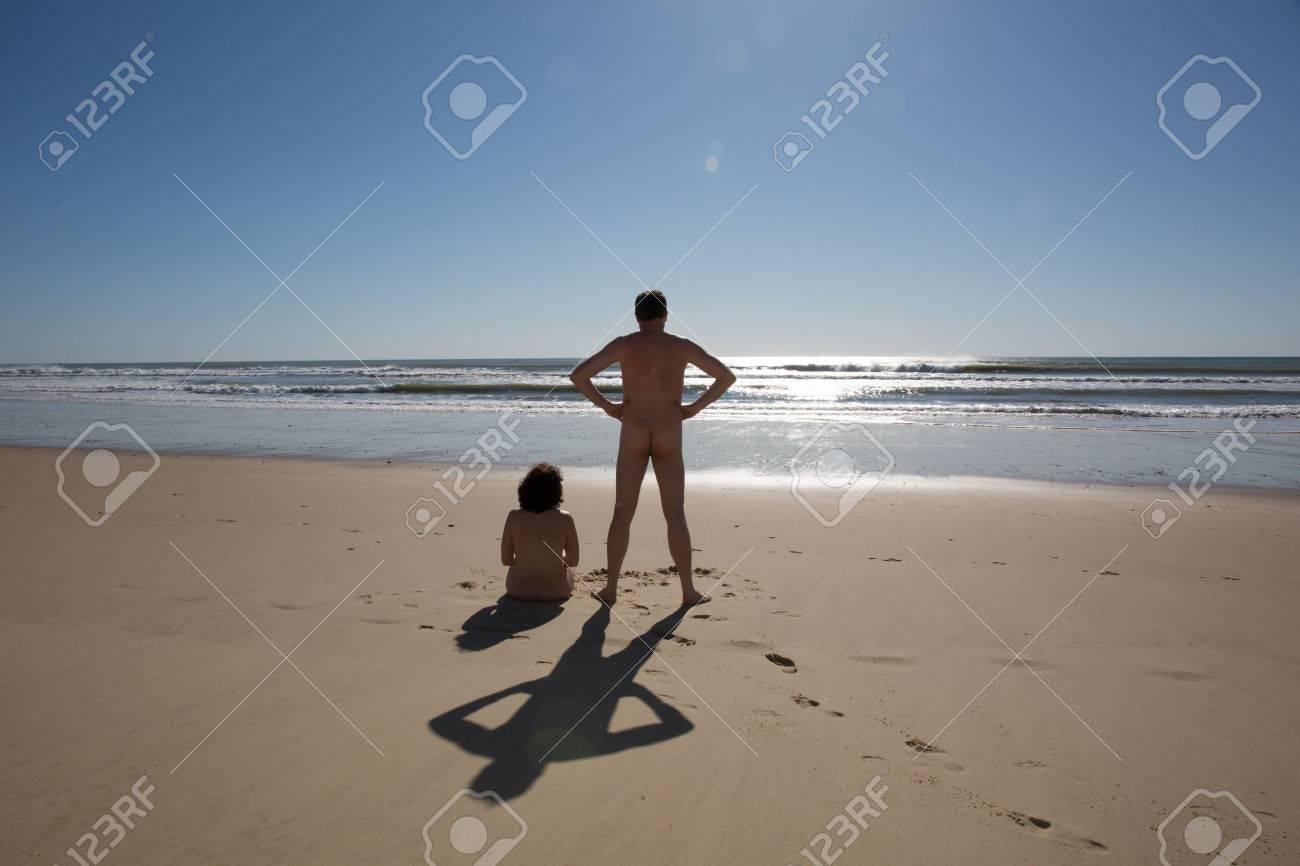naturist couple