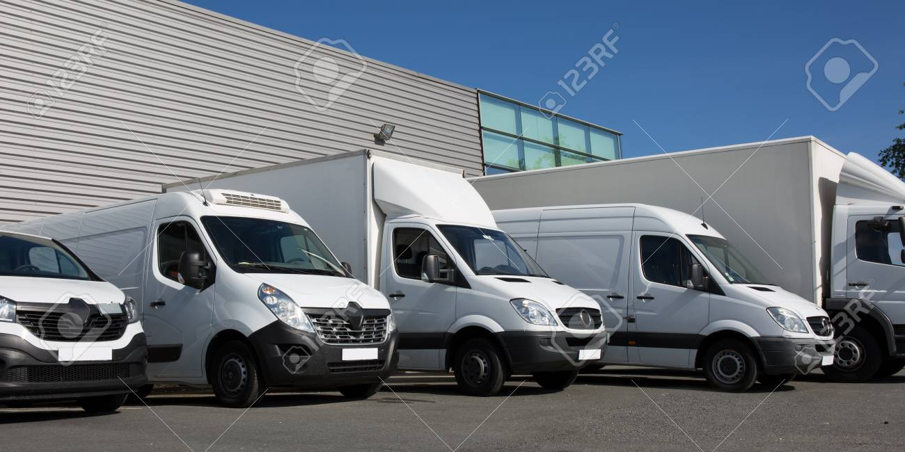park society specialized delivery with small trucks and van - 80374590