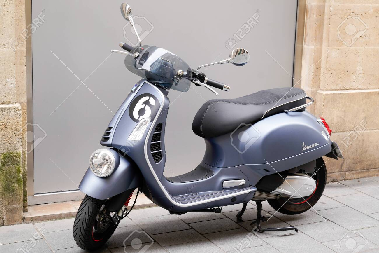 Bordeaux Aquitaine France 06 01 2020 Vespa New Modern Stock Photo Picture And Royalty Free Image Image 148475928