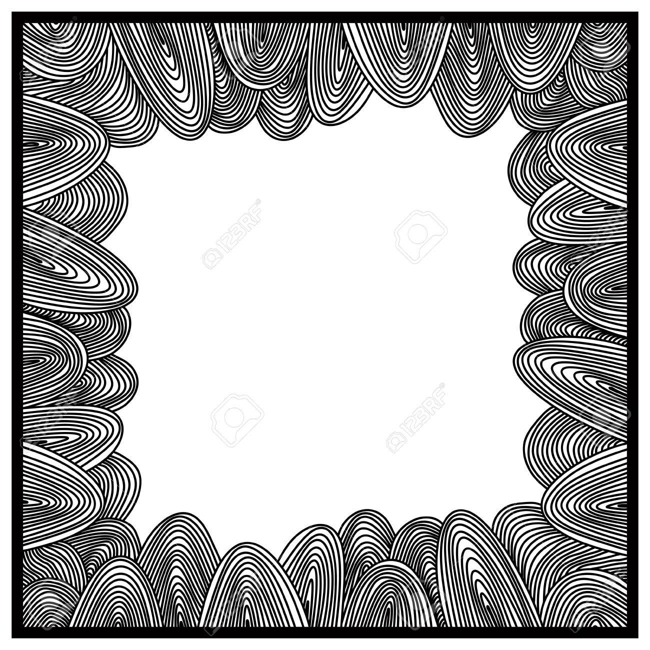 Frame vector drawing. Stock Vector - 13790617