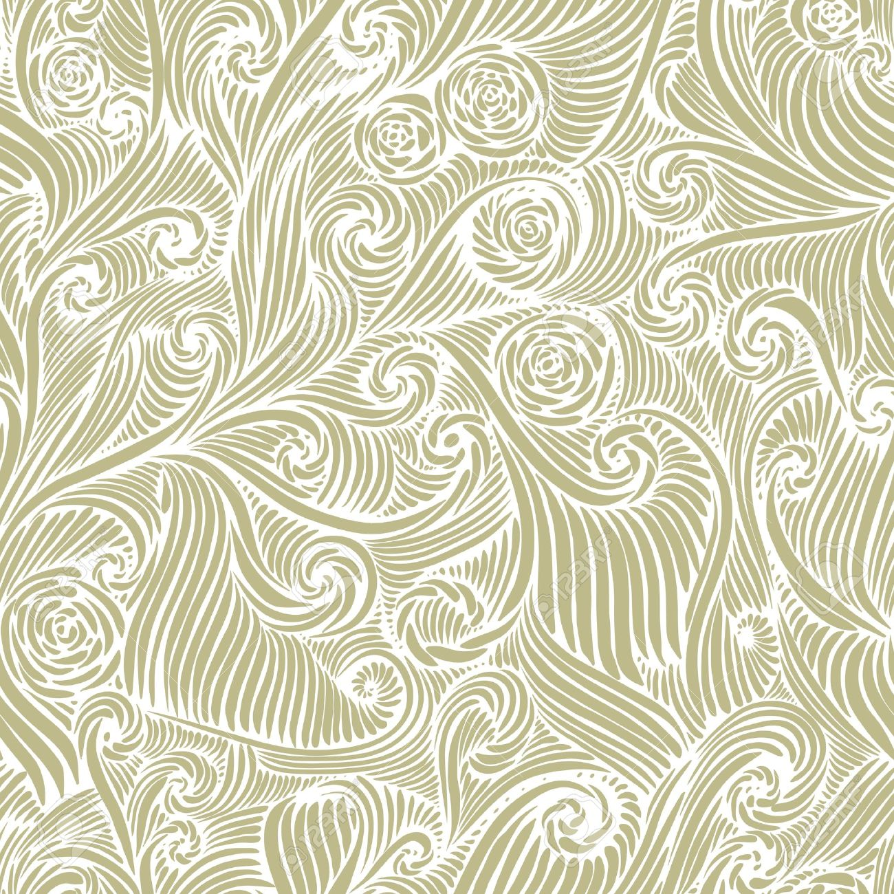 Seamless pattern, vintage style background Stock Vector - 15275240