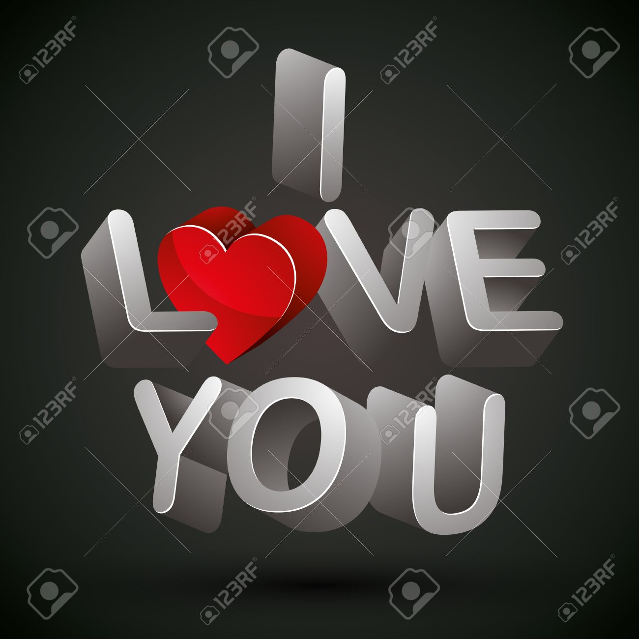 Imagenes de te amo en fondo negro