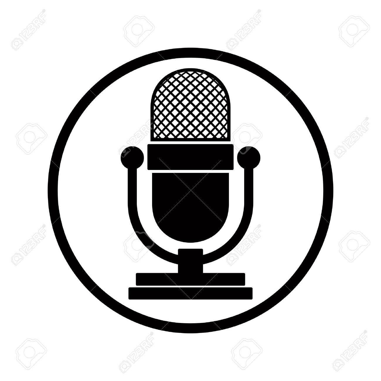 Fantastisch Mikrofon Schematisches Symbol Bilder - Die Besten ...