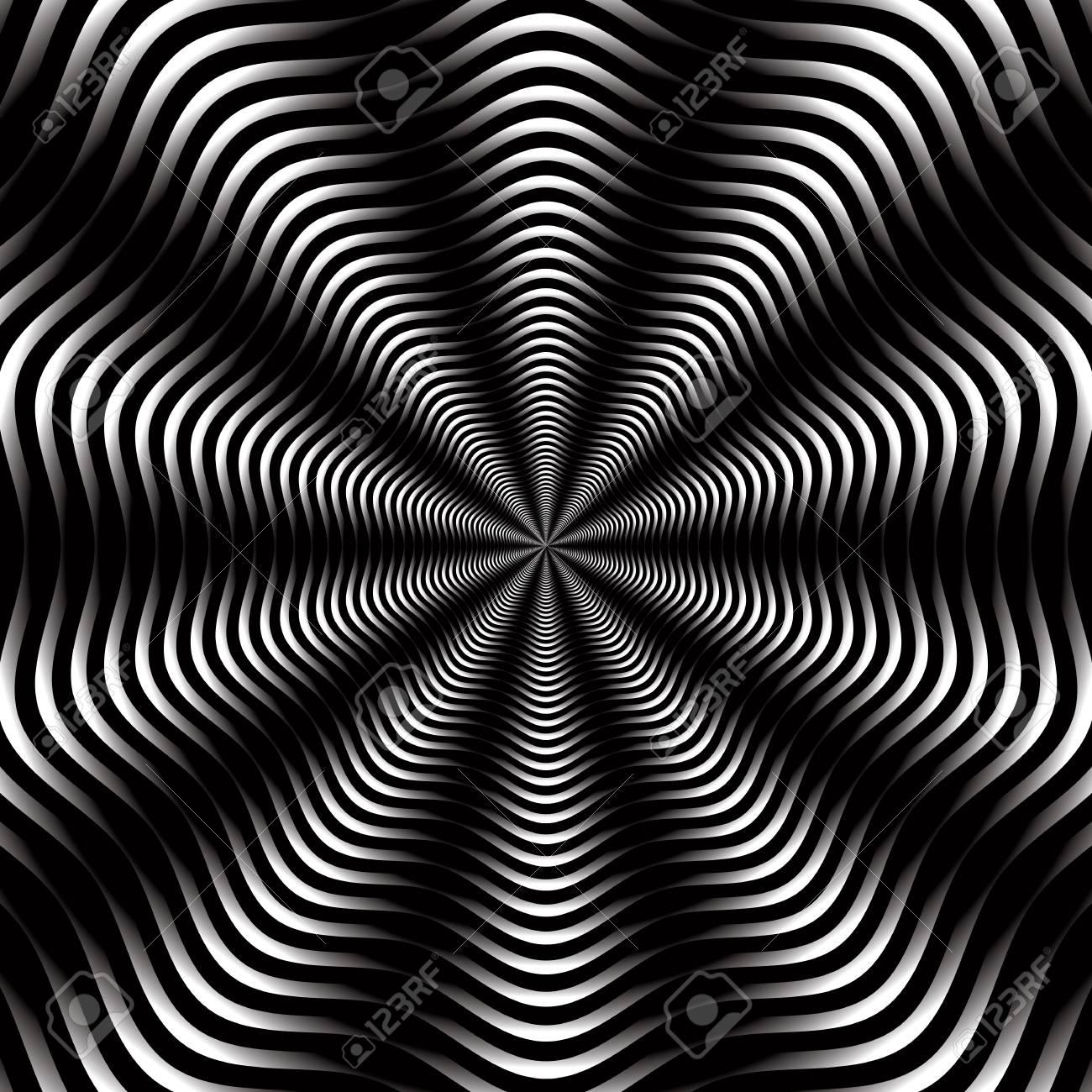 モノクロの背景デザインやボリュームの効果で壁紙 のイラスト素材 ベクタ Image