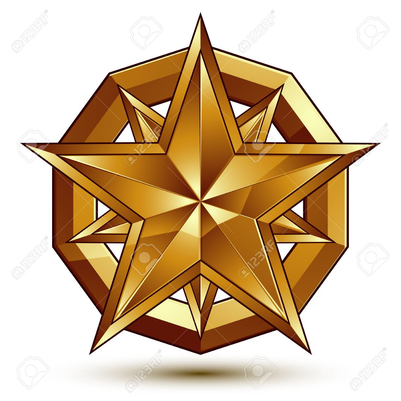 Perfecto Plantilla De Estrella De 6 Puntos Adorno - Ejemplo De ...