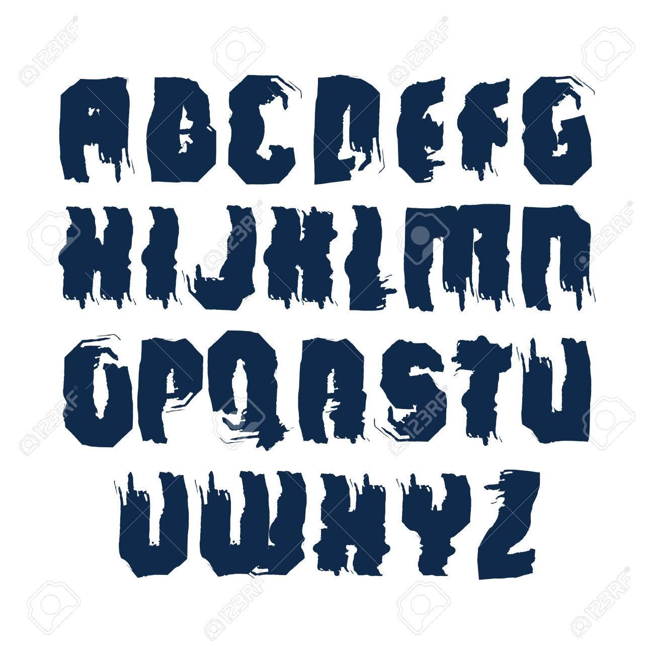 Handwritten dirty contemporary vector uppercase letters doodle handwritten dirty contemporary vector uppercase letters doodle hand painted alphabet stock vector thecheapjerseys Images