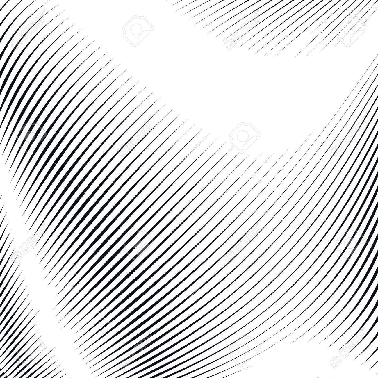 Noisy contrast lined backdrop, tiling with visual effects. Moire art technique. - 42299328