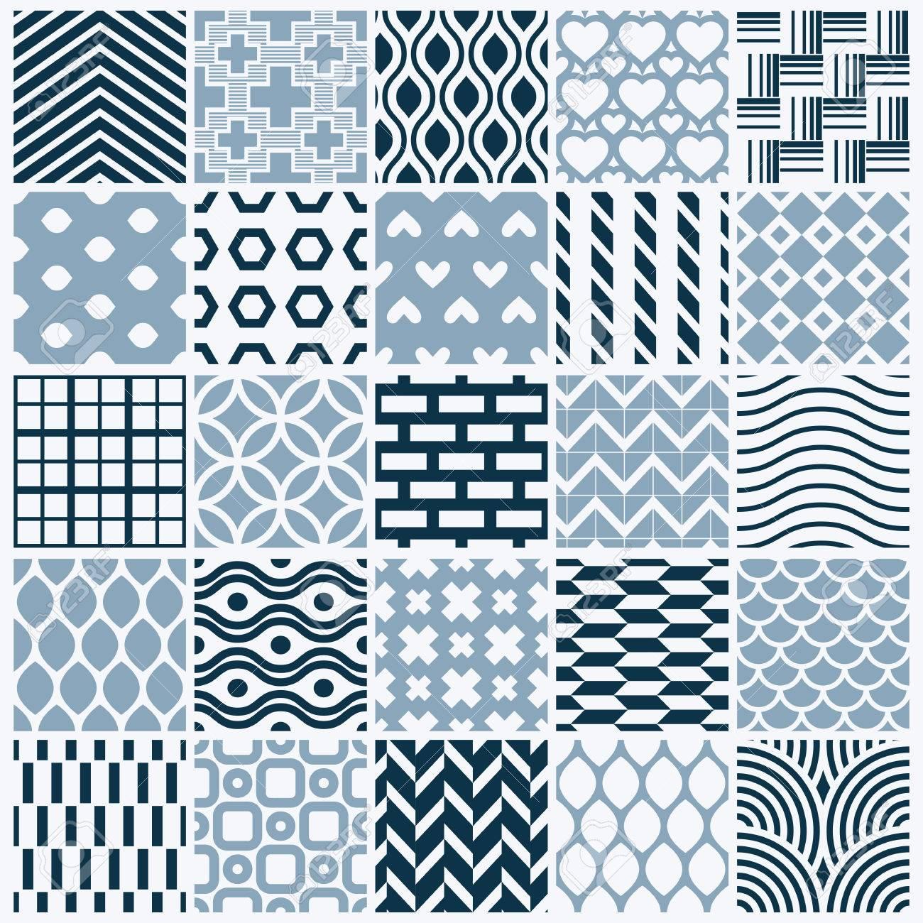 グラフィック装飾タイル コレクション 繰り返されるパターンを
