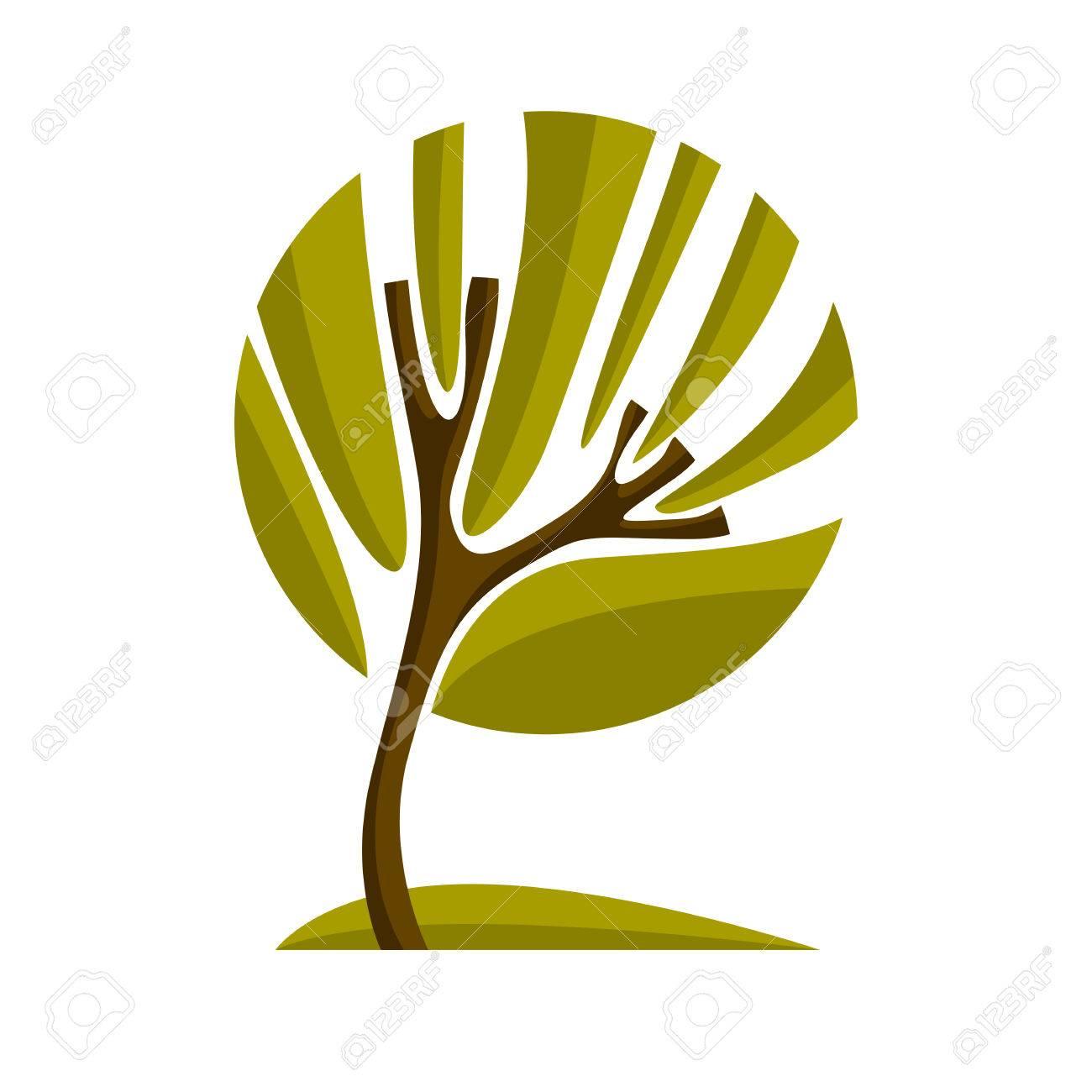Vettoriale Artistico Simbolo Stilizzato Disegno Naturale Creativo
