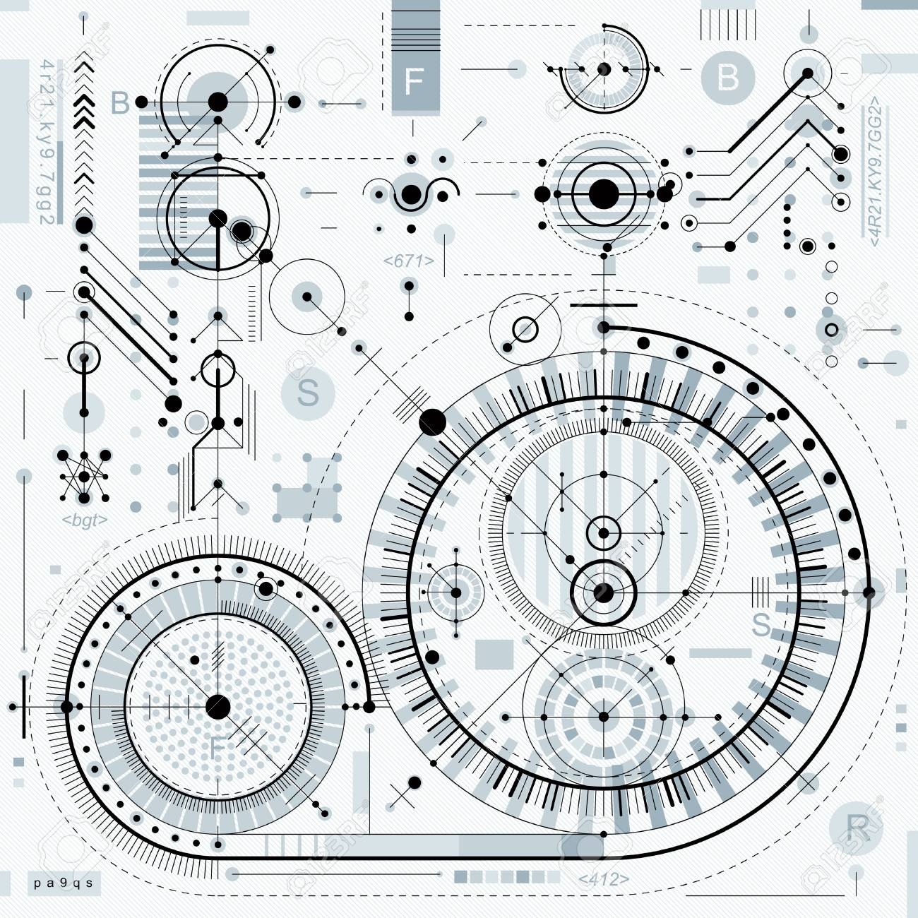 Vector Industrial And Engineering Background, Future Technical ...