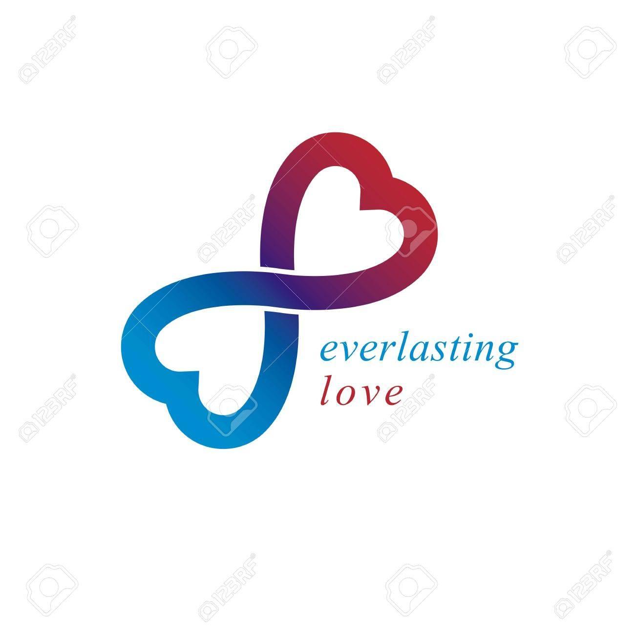 Love forever conceptual logo vector symbol created with infinity love forever conceptual logo vector symbol created with infinity loop and male mars an female biocorpaavc