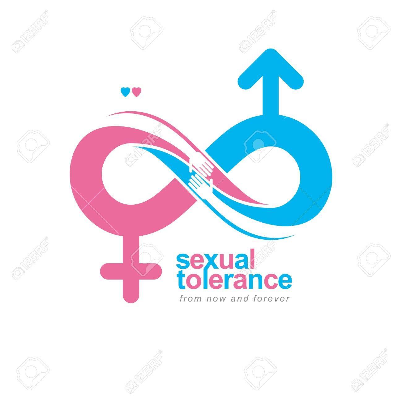 Bisexual mars venus symbol
