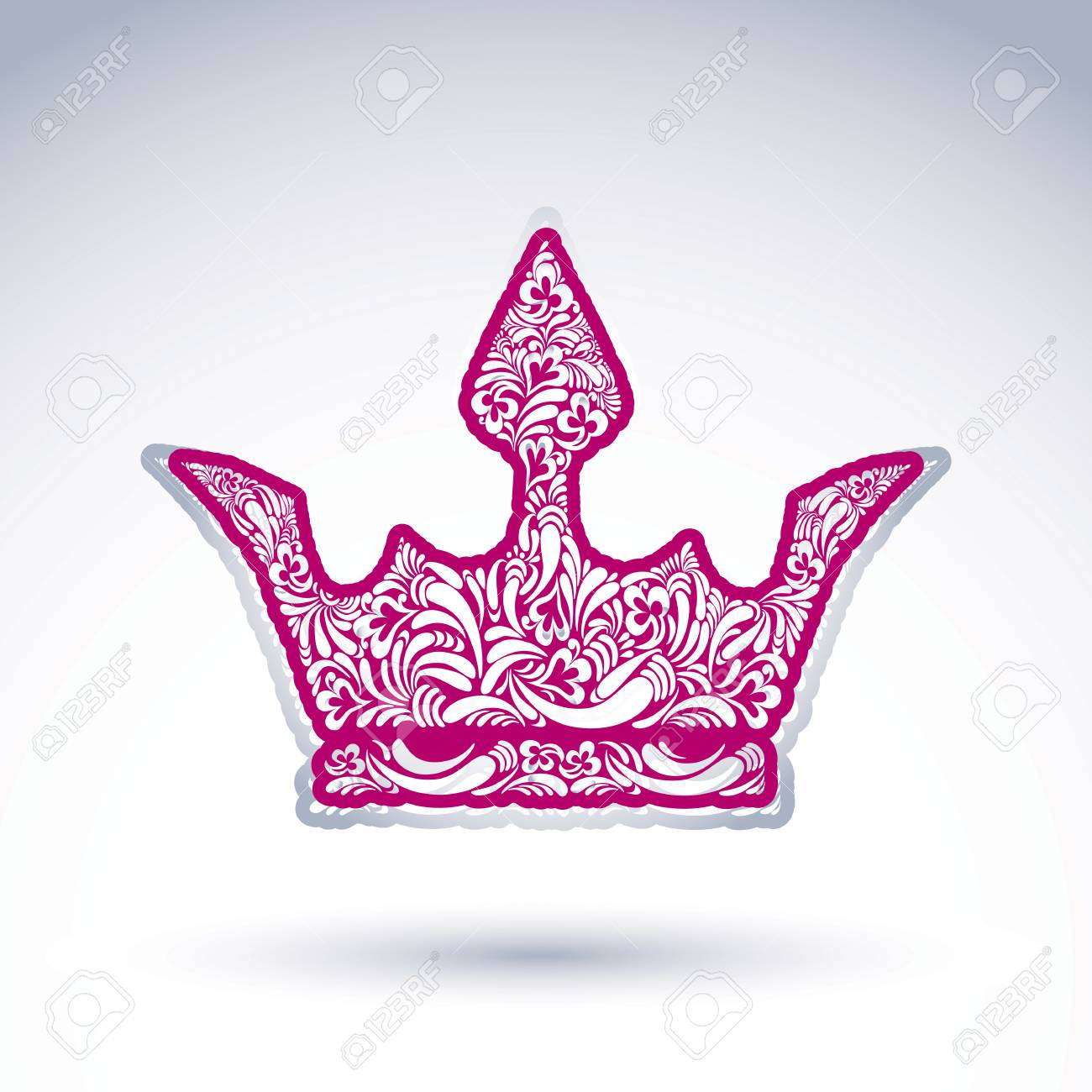Crown Abstract Art