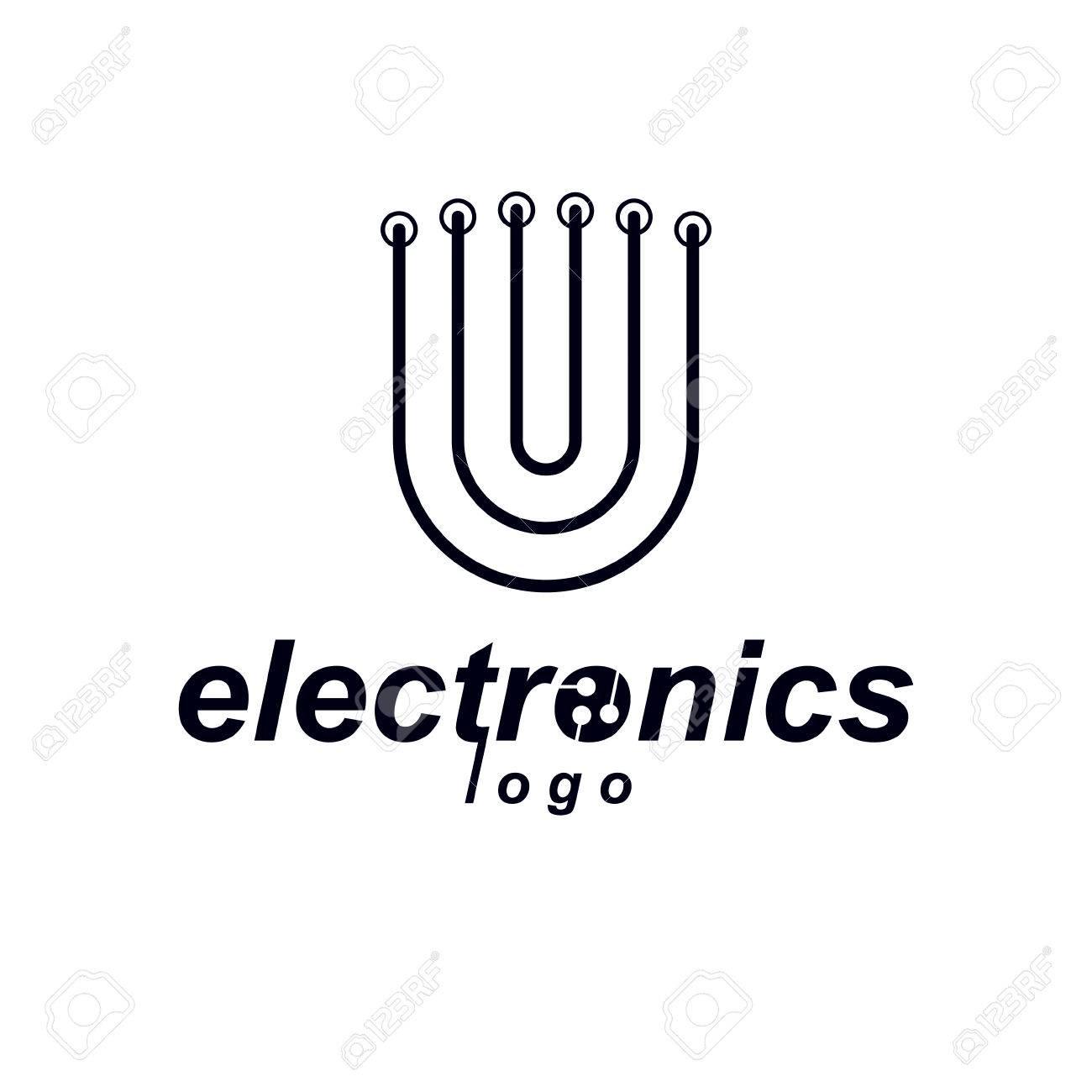 Nett Symbol Der Elektronischen Komponente Zeitgenössisch ...