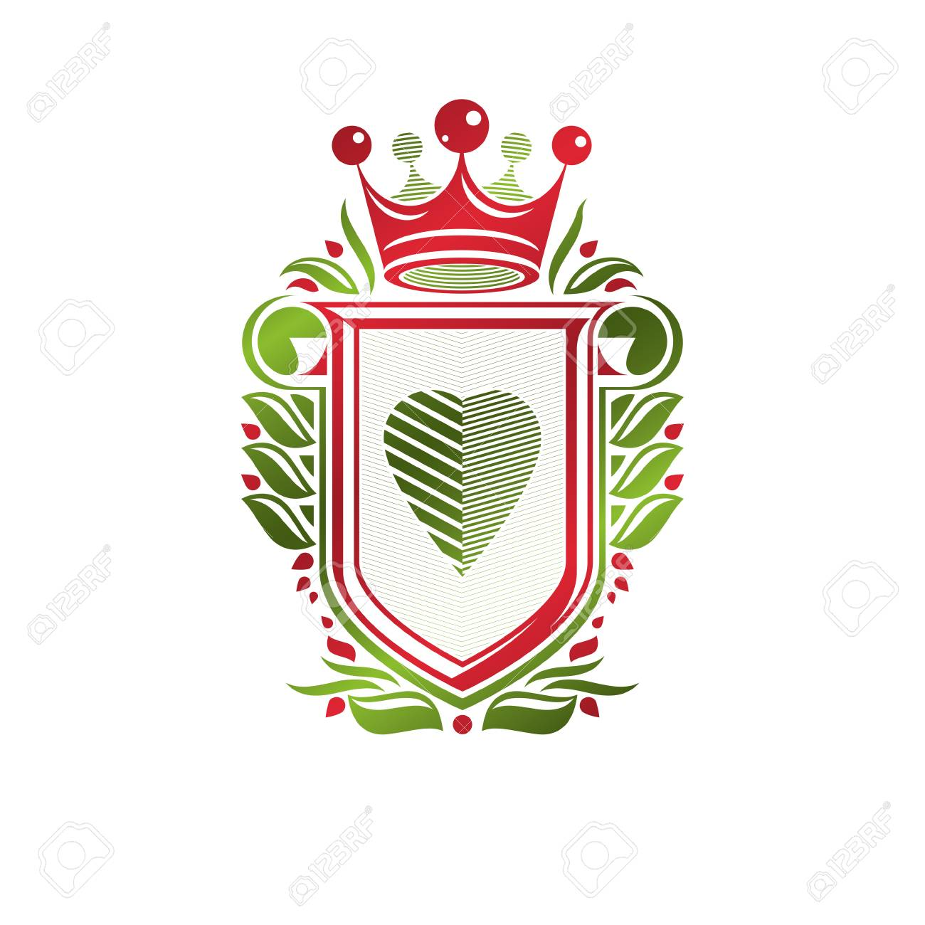 The heraldic lily is the favorite emblem of France 93