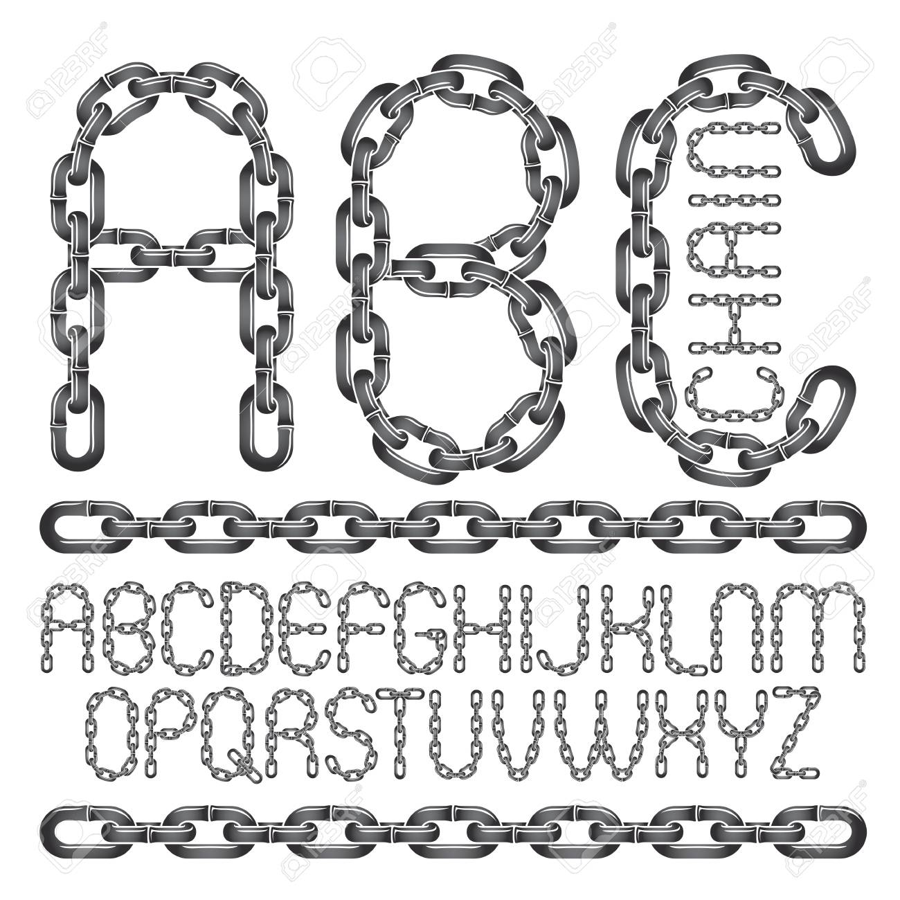 Abc Creation pour vector font, trendy typescript can be used in poster creation