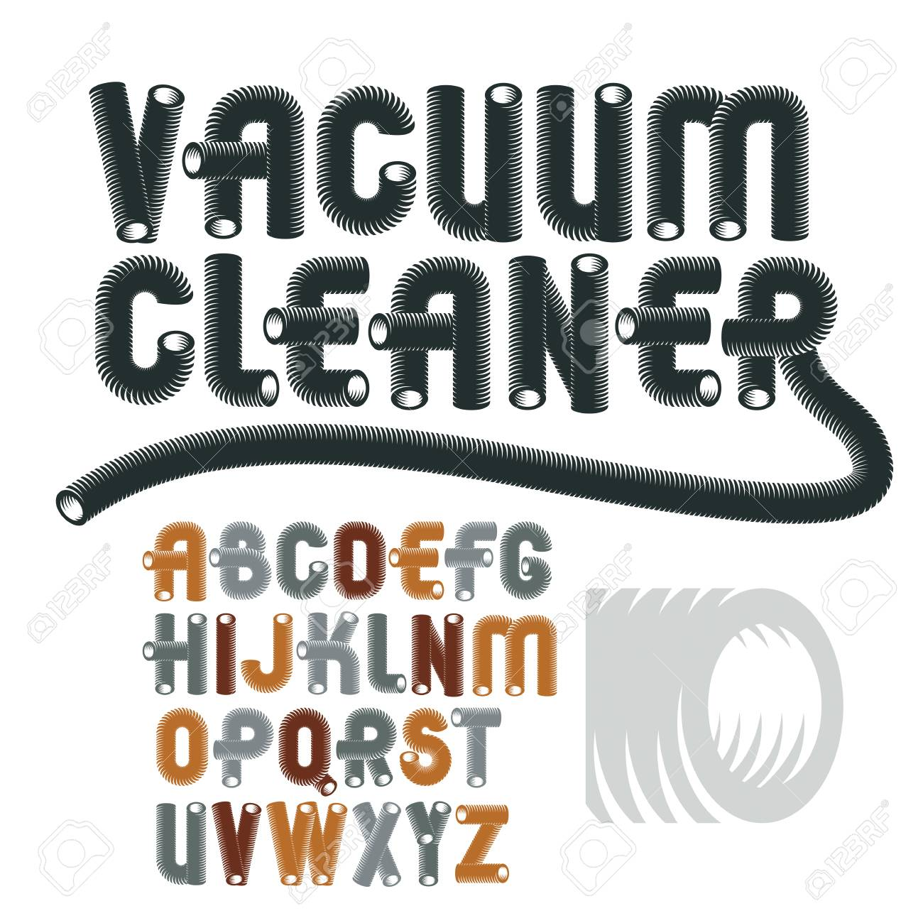 Abc Creation pour set of cool vector upper case english alphabet letters, abc isolated