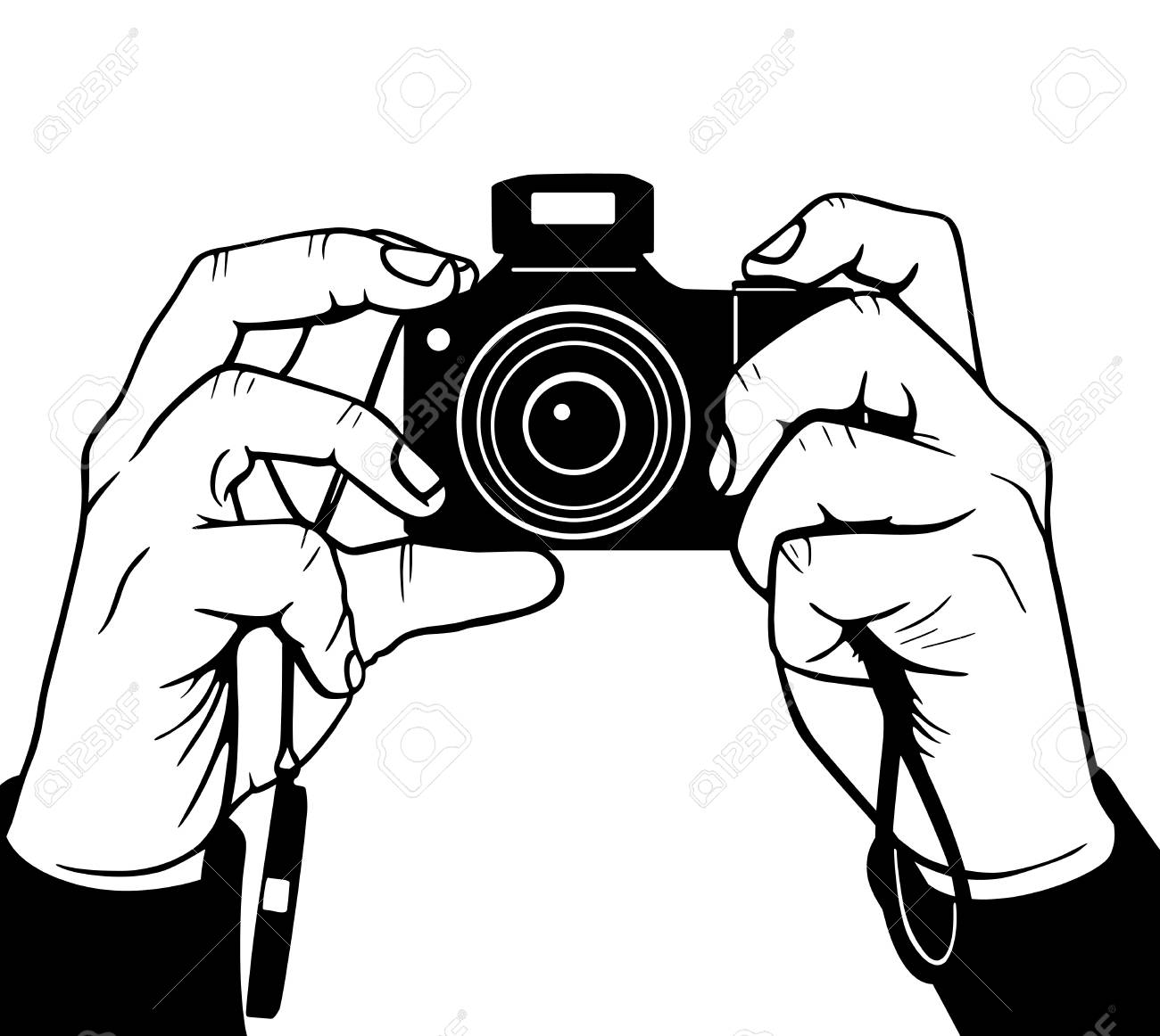 hands photography vector illustration royalty free cliparts rh 123rf com photography vector logo free photography vector icons