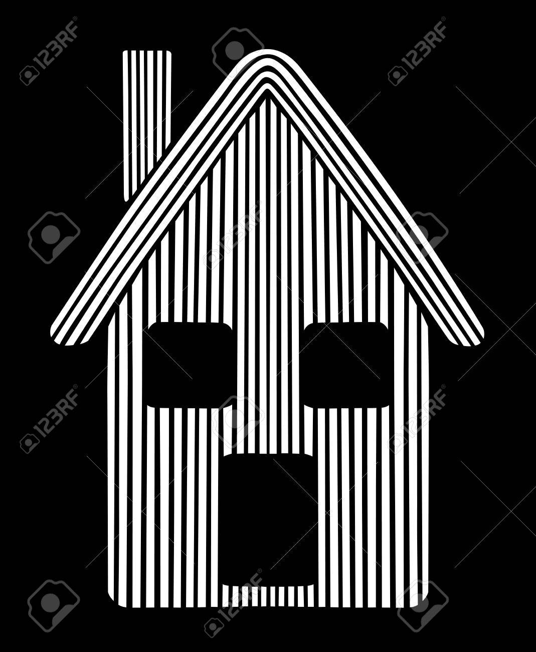 Styled house Stock Vector - 16170734
