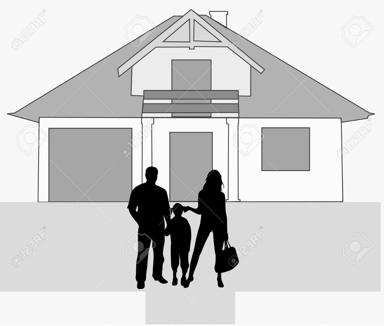 new home Stock Vector - 6468109