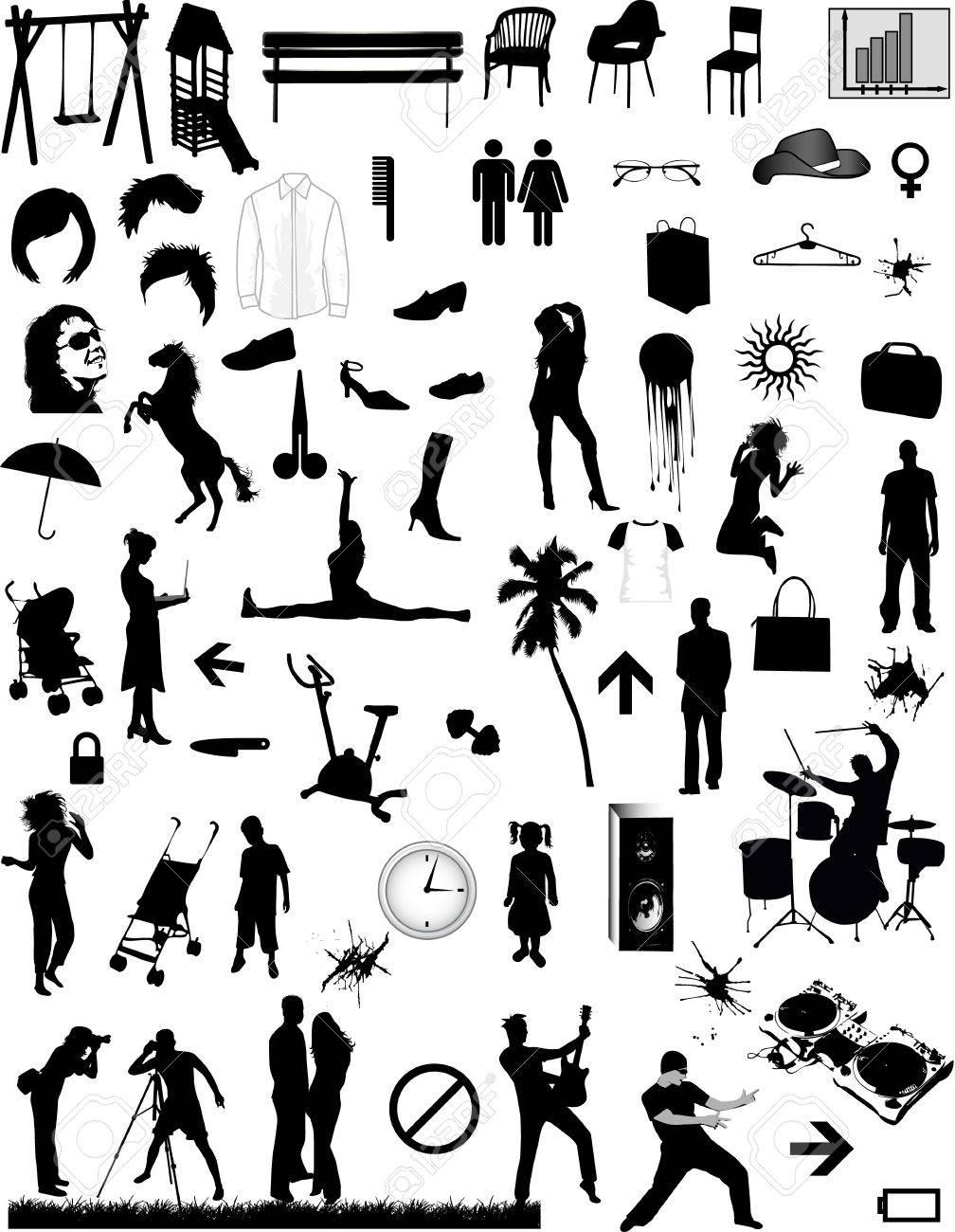 Big collection - vector design elements - 8741839