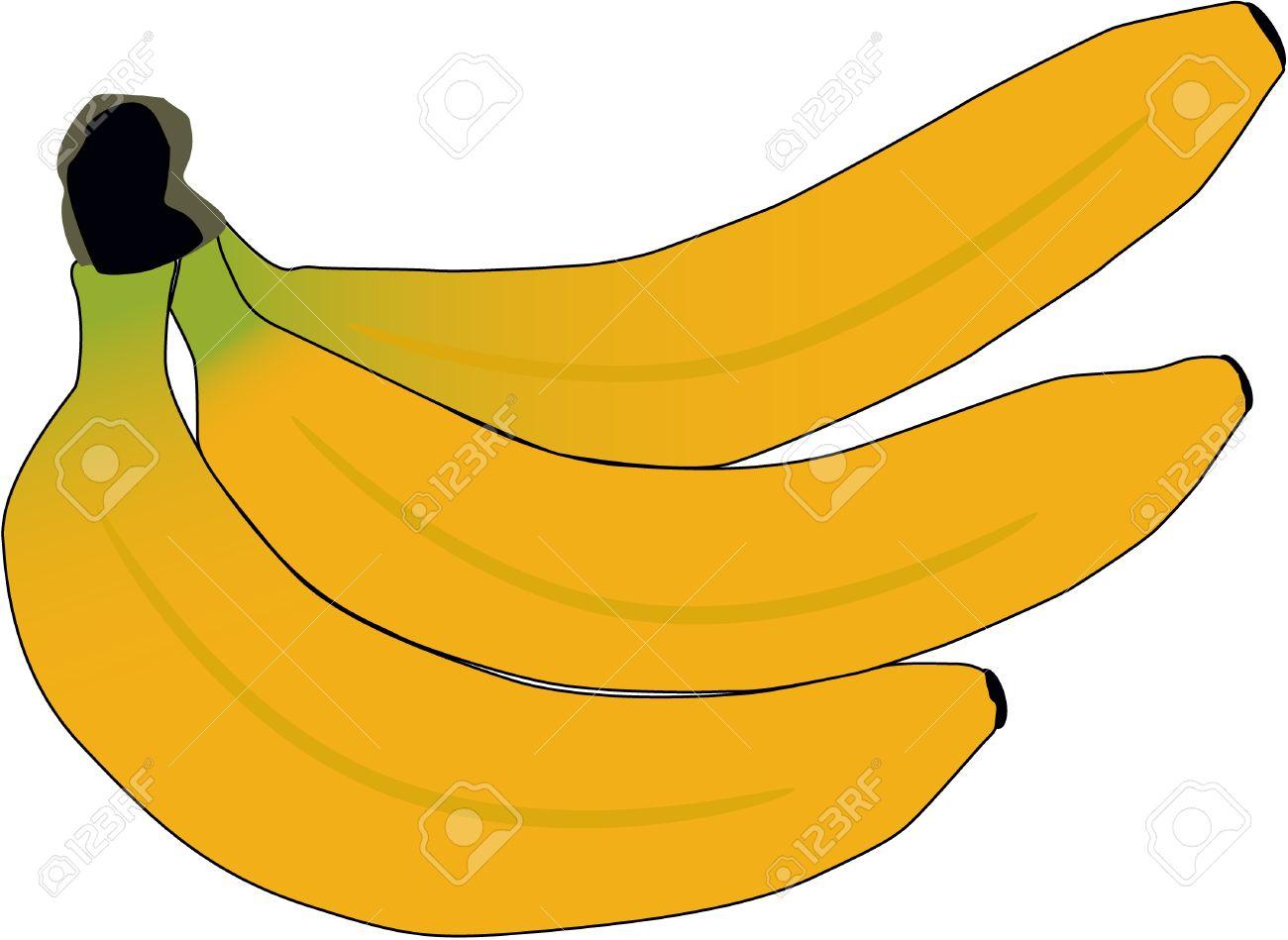 Banana, vector work Stock Vector - 9830403