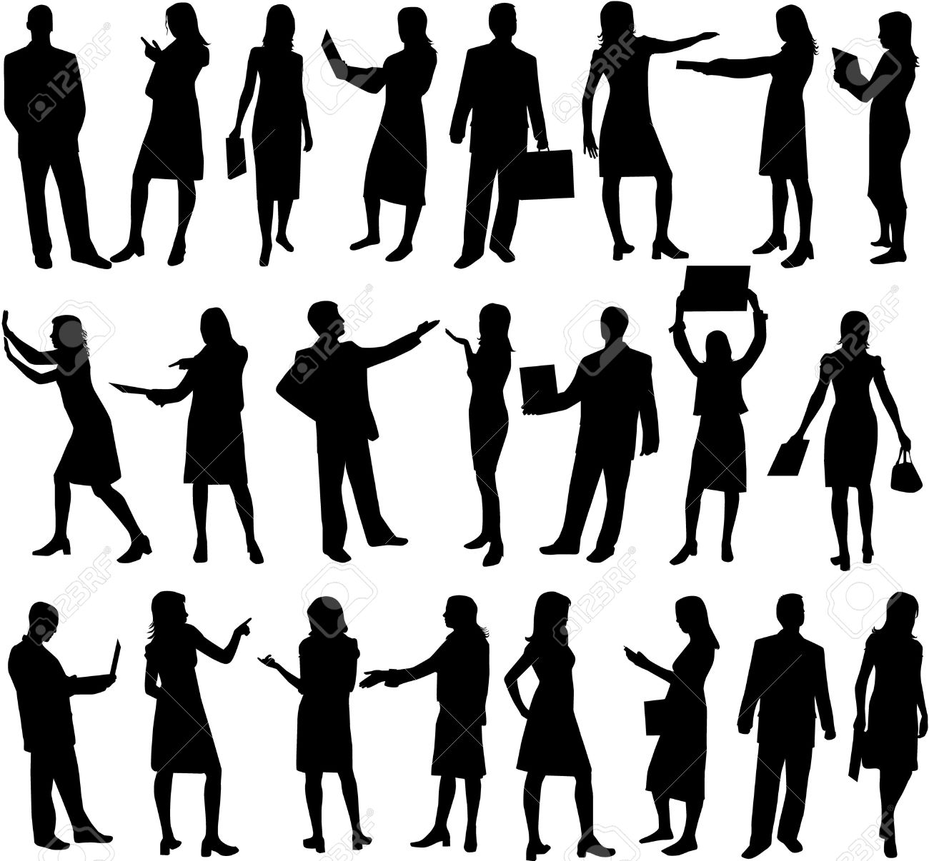 cut out people free vector 1 clip art vector site