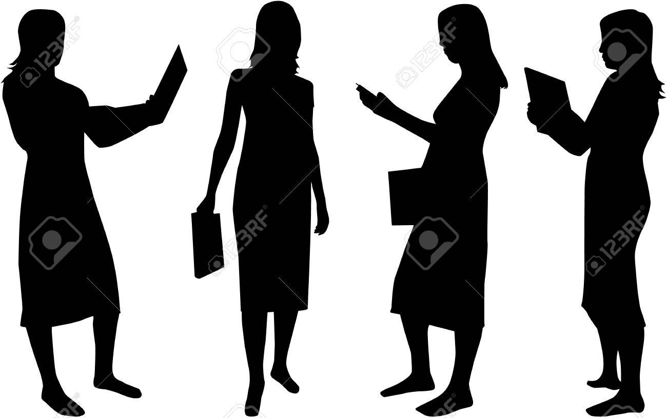 Business Womens Stock Vector - 11356358