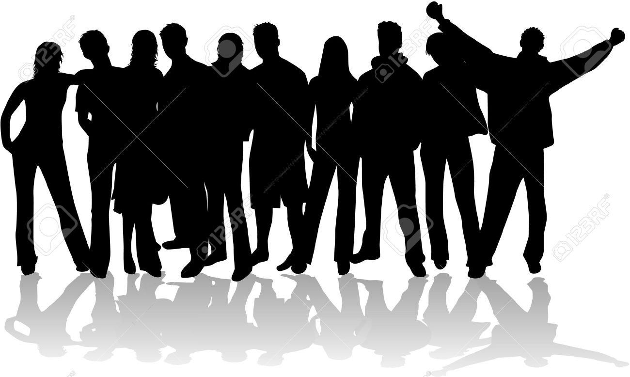 Group of people Stock Vector - 16259755