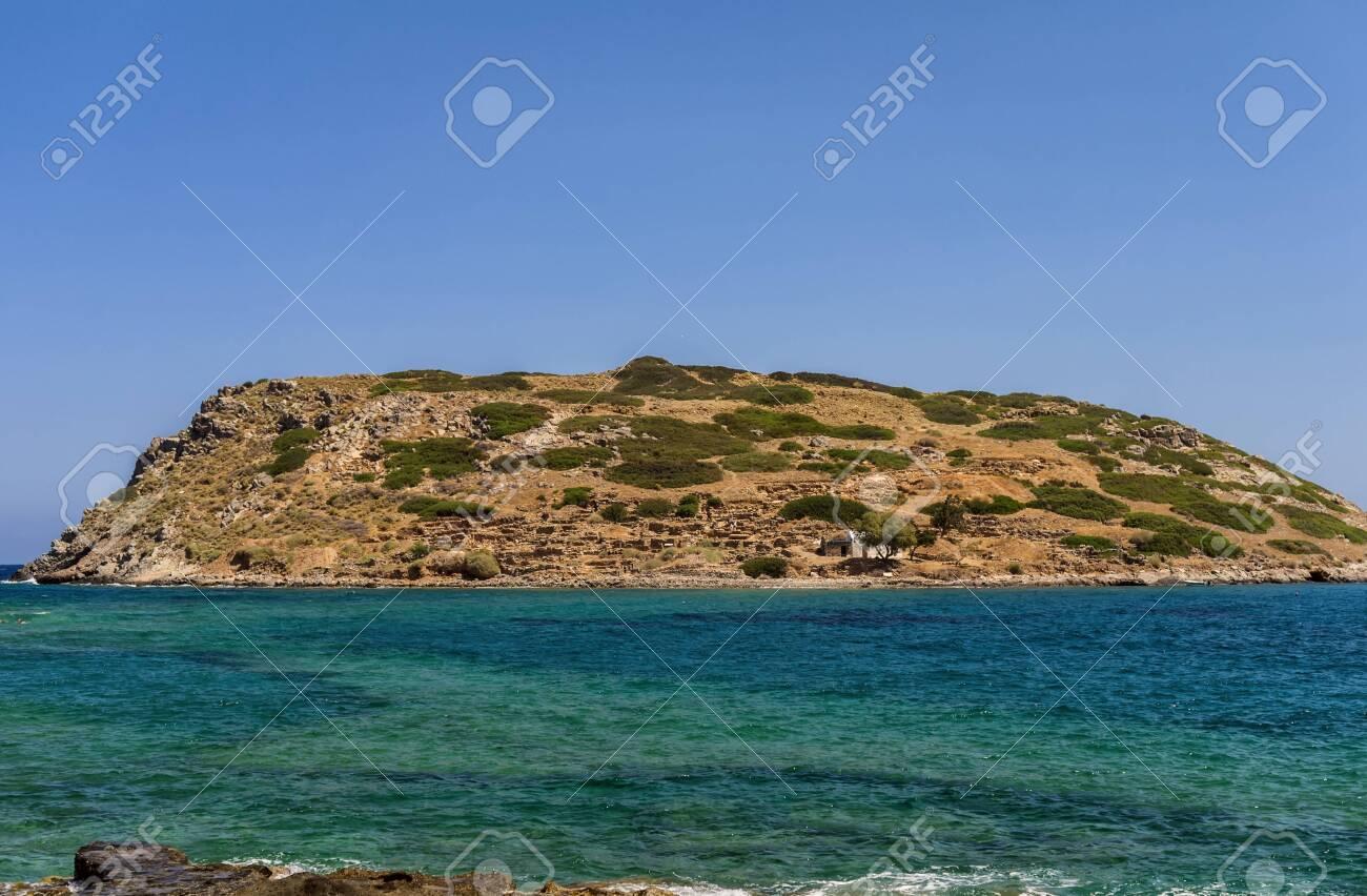 Mochlos Minoan Settlement On The Crete Island Greece