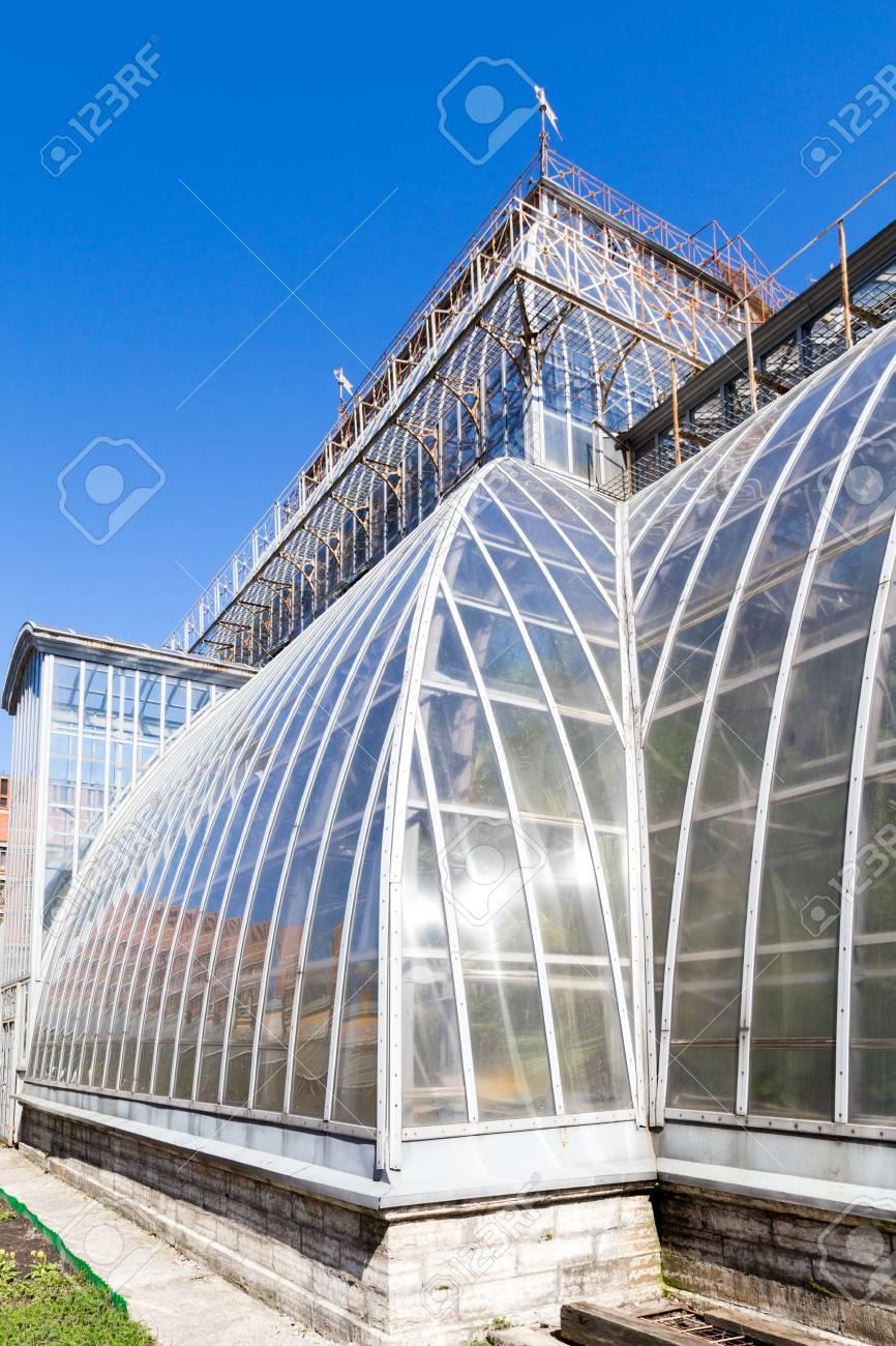 Gewachshaus In Sankt Peterburg Botanischen Garten Alte Architektur