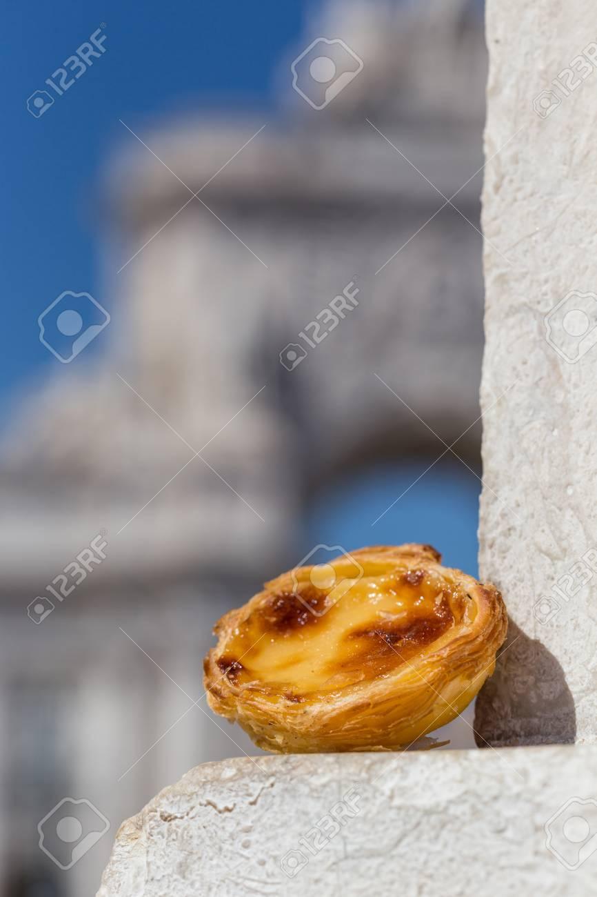 Traditionelle Portugiesische Eitortchen Pastose Kuchennachtisch