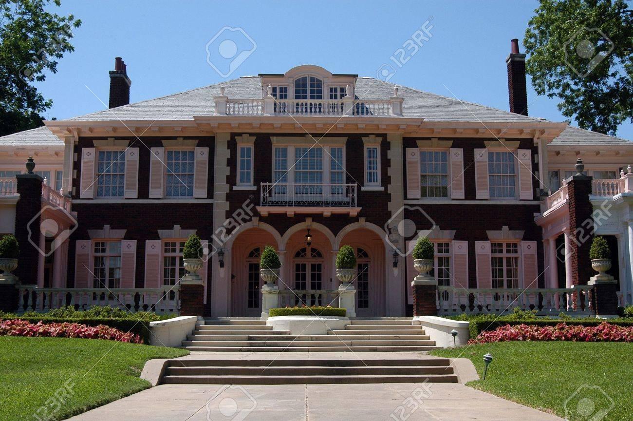 George Greer Mansion, Swiss Avenue, Dallas, Texas Stock Photo - 1355360