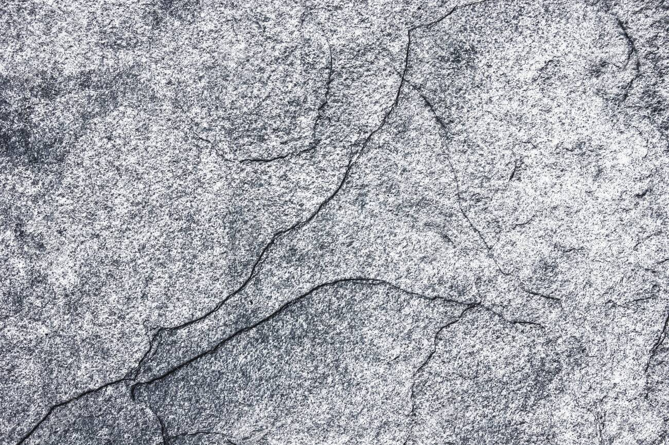 Cracked concrete wall texture. White gray pattern for graphic design. - 128368028