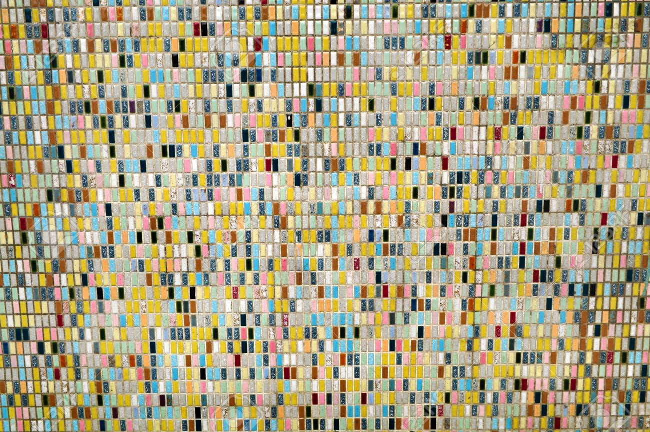 Colorful background from mosaic wall. Stock Photo - 5183026