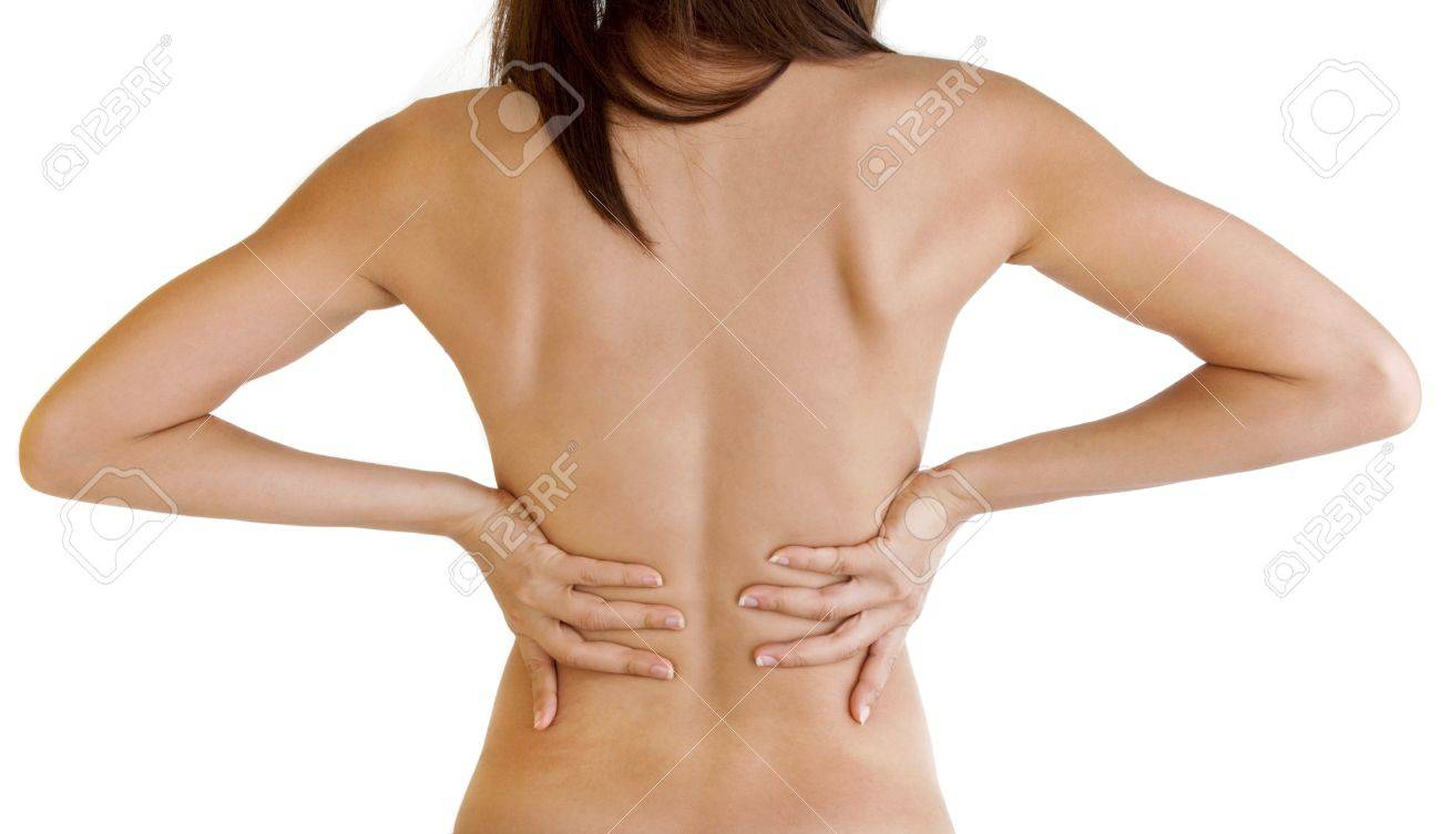 female body from behind