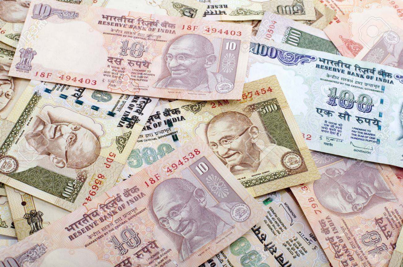 Rupee Note Image Rupee Indian Rupee Bank Notes
