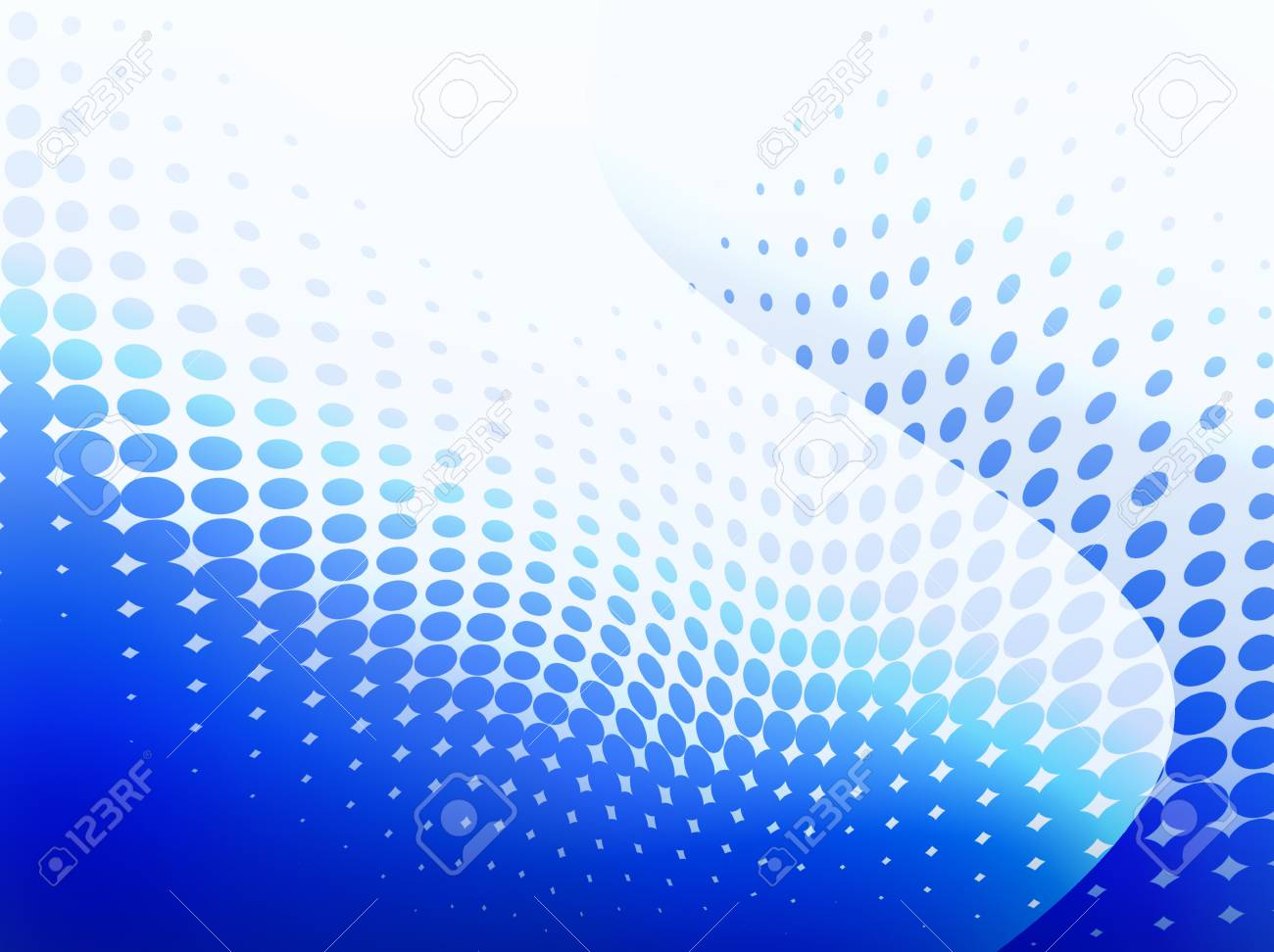 Background with blue circles tone. Stock Photo - 12726352