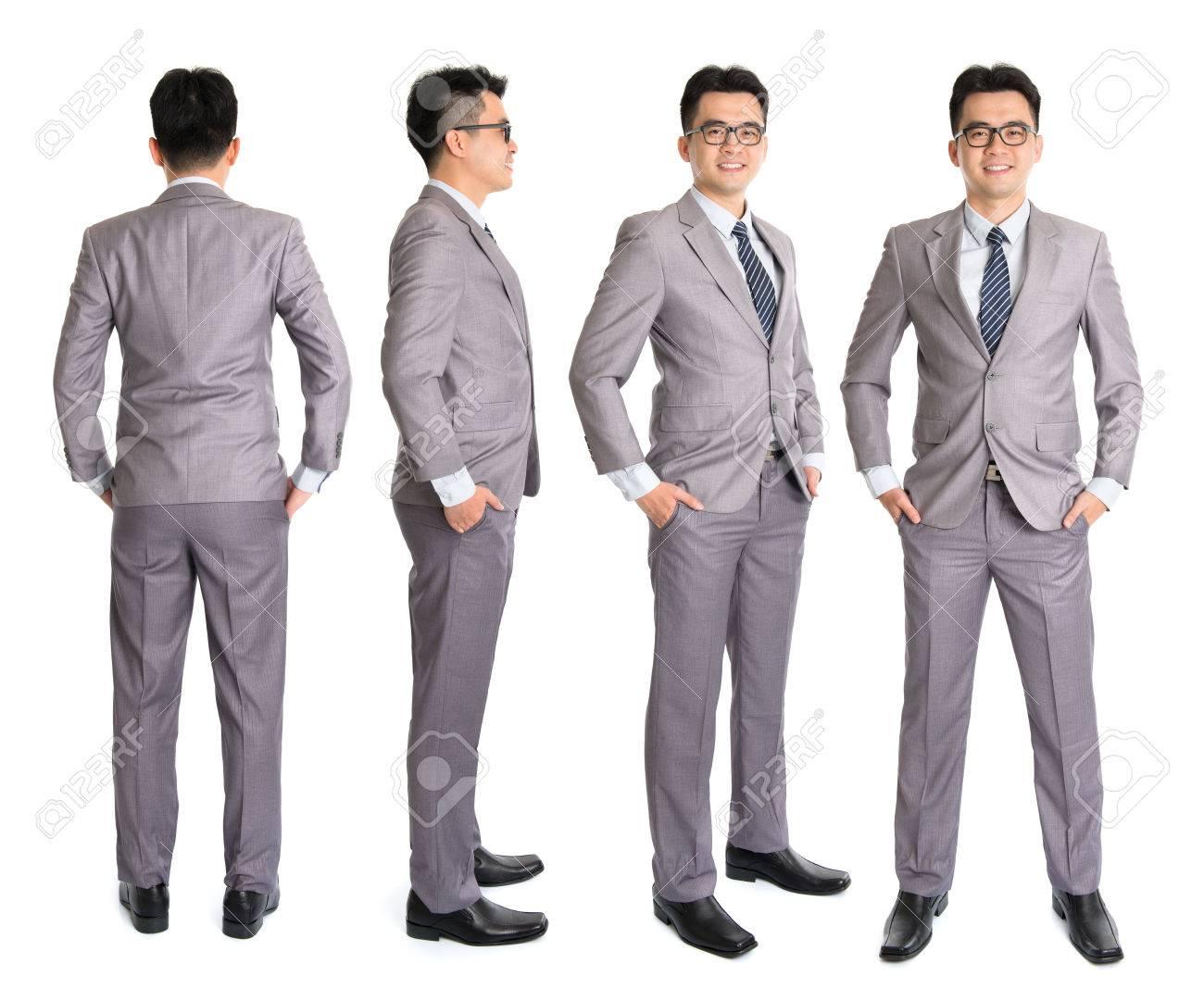 9e0f2227c3 Full Body Asian Businessman In Different Angle