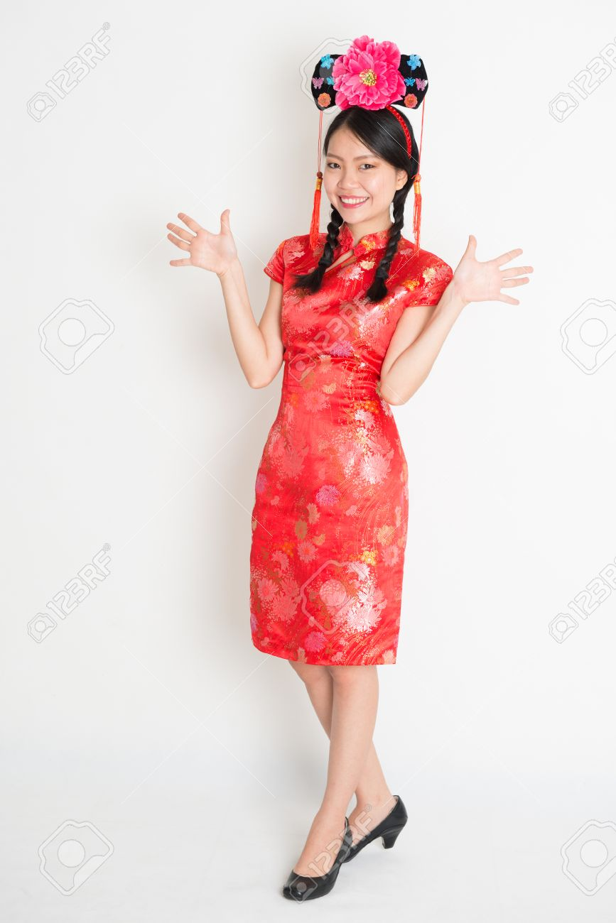 Фото китайских девушек в полный рост