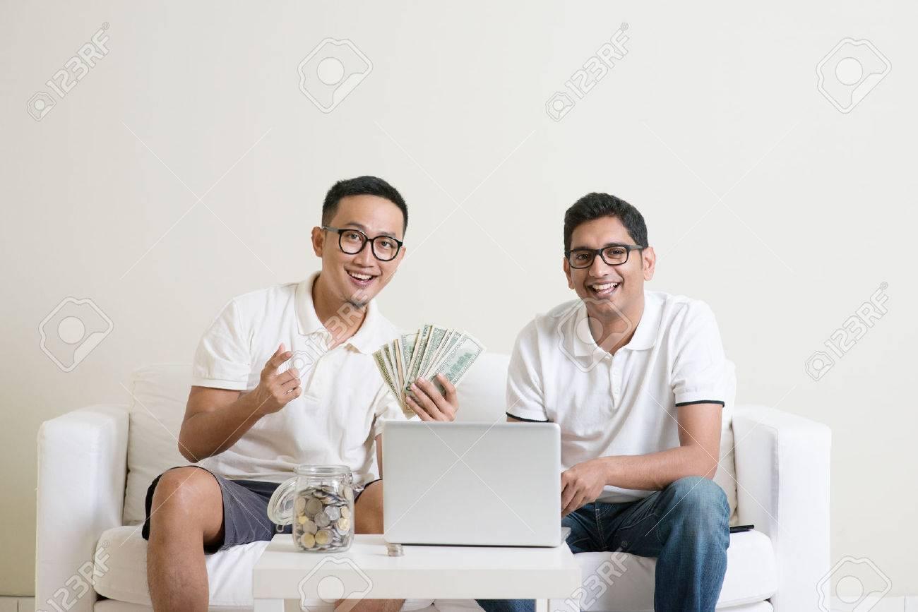 How to get money from men online