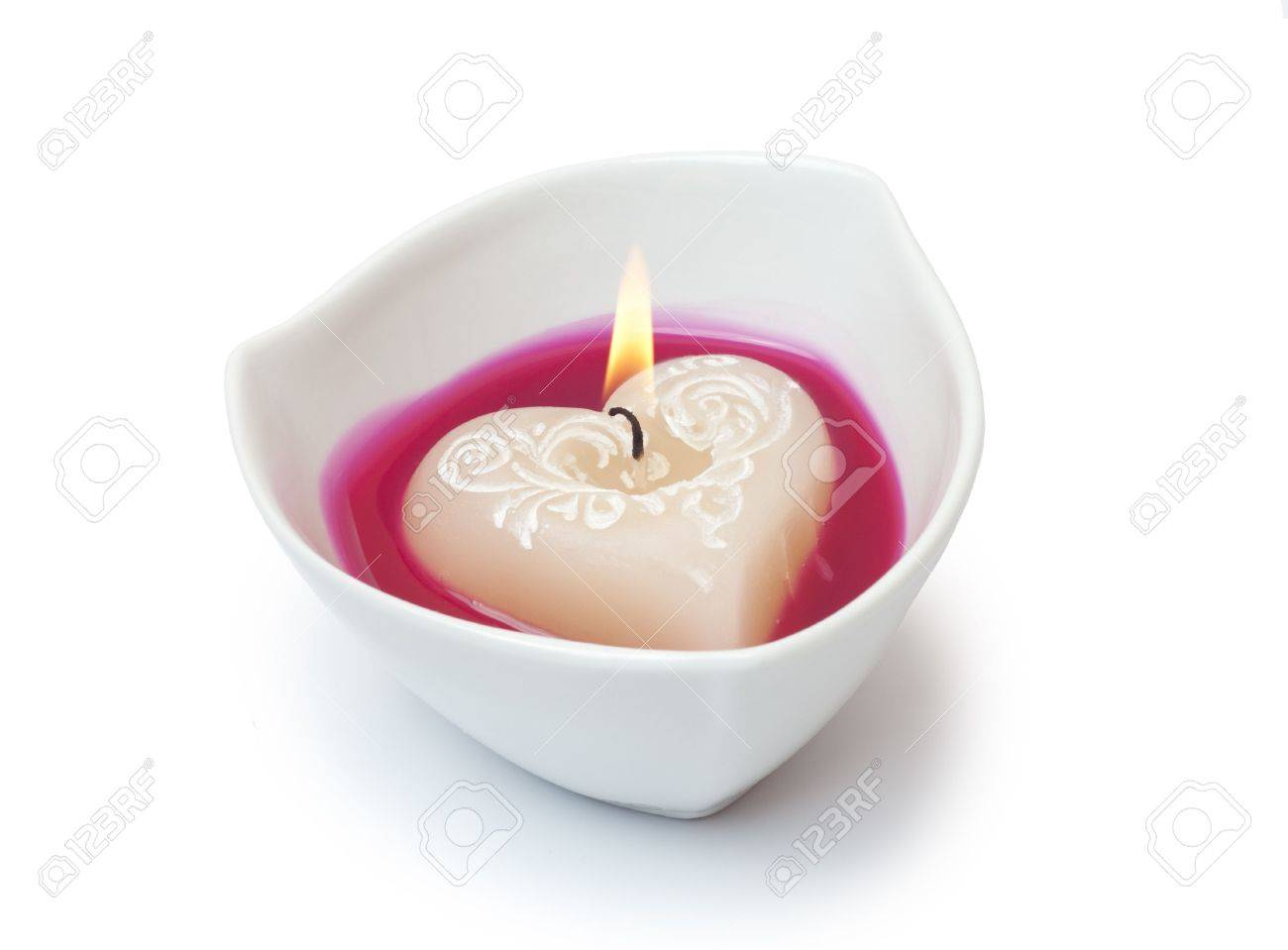Burning candle Stock Photo - 7864416